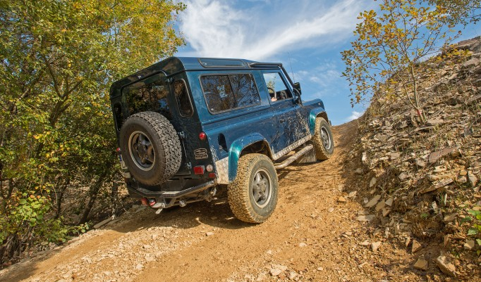 Landrover offroad